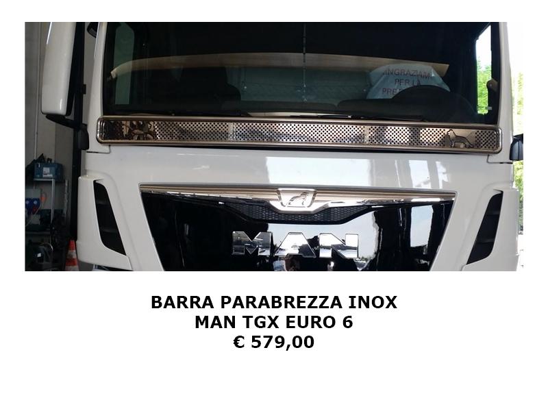 BARRA PARABREZZA inox MAN
